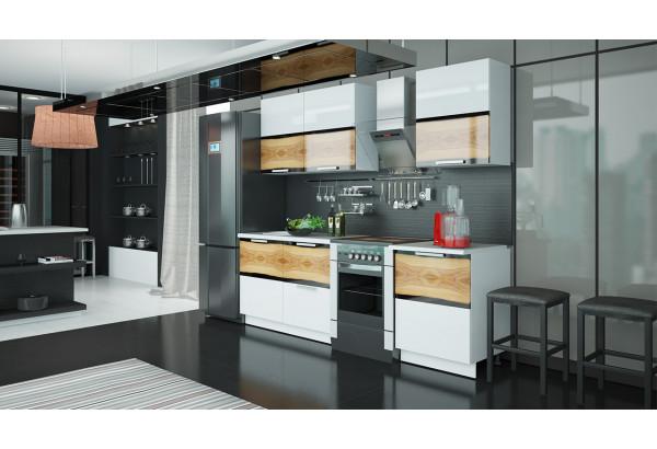 Кухонный гарнитур длиной - 240 см Фэнтези (Вуд) - фото 2