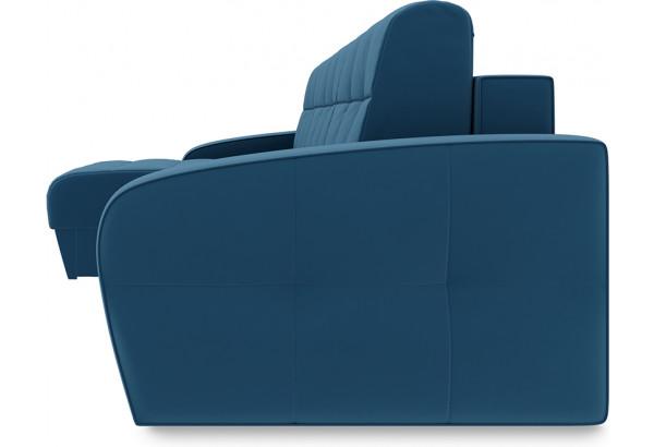 Диван угловой левый «Аспен Т1» Beauty 07 (велюр) синий - фото 3