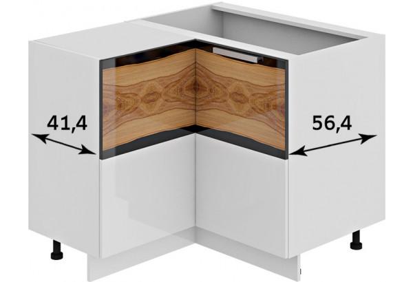 Шкаф напольный нестандартный угловой с углом 90° Фэнтези (Вуд) - фото 3