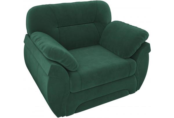 Кресло Бруклин Зеленый (Велюр) - фото 4