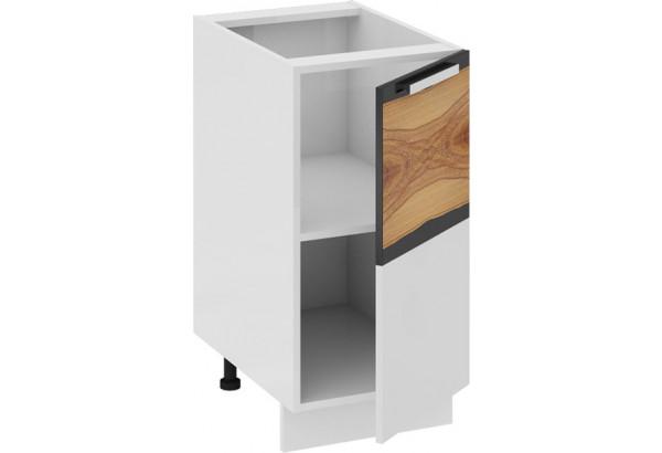 Шкаф напольный (правый) Фэнтези (Вуд) 400x582x822 - фото 1