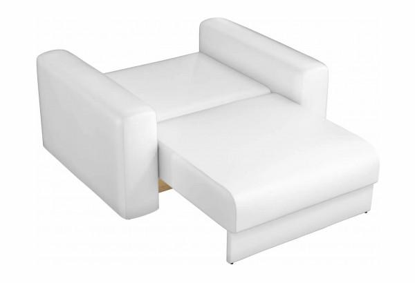Кресло Мэдисон Белый (Экокожа) - фото 3