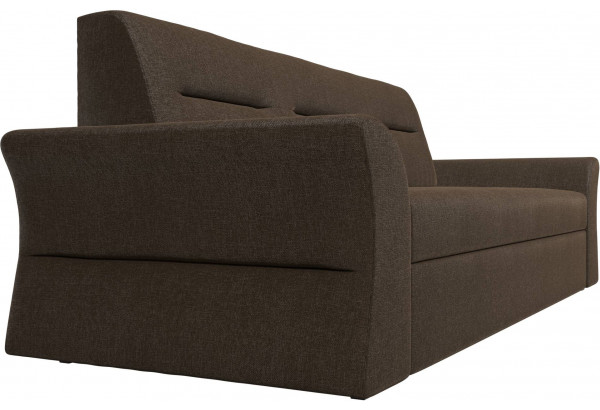 Прямой диван Клайд Коричневый (Рогожка) - фото 3