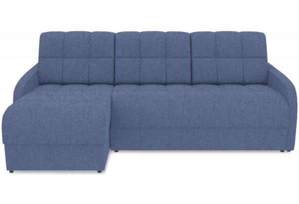 Диван угловой левый «Аспен Slim Т1» (Levis 78 (рогожка) Темно-синий) - фото 2