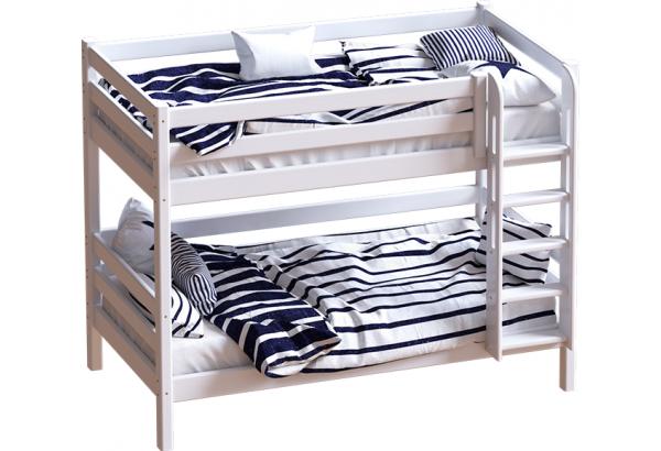 """Кровать """"Авалон"""" с прямой лестницей. - фото 1"""