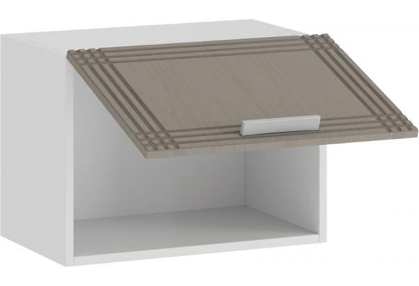 Шкаф навесной c одной откидной дверью «Ольга» (Белый/Кремовый) - фото 2