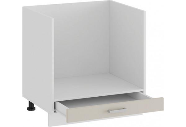 Шкаф напольный под бытовую технику «Долорес» (Белый/Крем) - фото 2