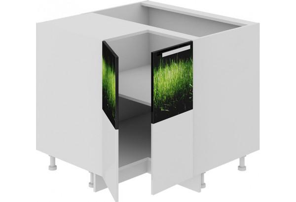Шкаф напольный угловой с углом 90° ФЭНТЕЗИ (Грасс) - фото 1