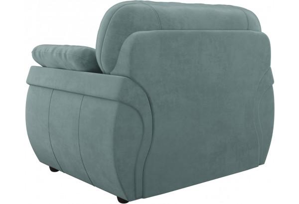 Кресло Бруклин бирюзовый (Велюр) - фото 5