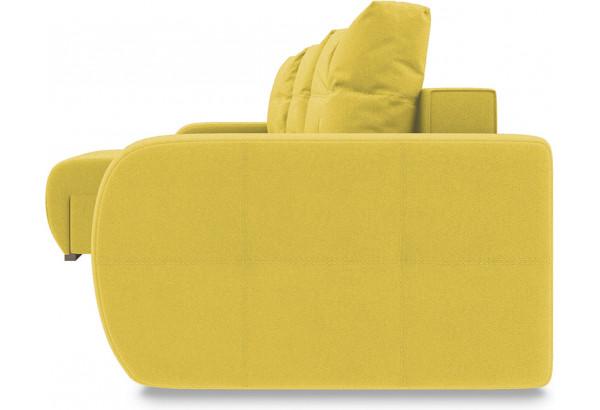 Диван угловой левый «Томас Slim Т1» Neo 08 (рогожка) желтый - фото 3
