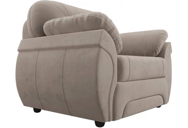 Кресло Бруклин Коричневый (Велюр) - фото 3
