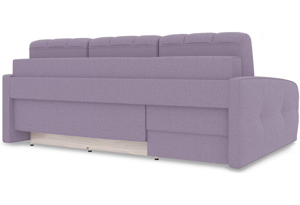 Диван угловой левый «Аспен Slim Т2» (Neo 09 (рогожка) фиолетовый) - фото 5