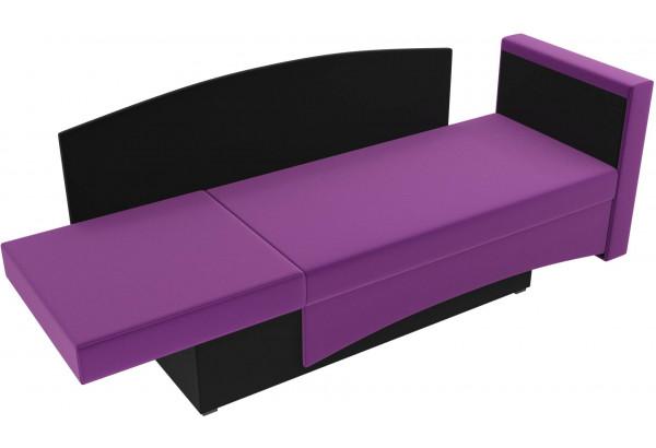 Кушетка Чарли Фиолетовый/Черный (Микровельвет) - фото 6