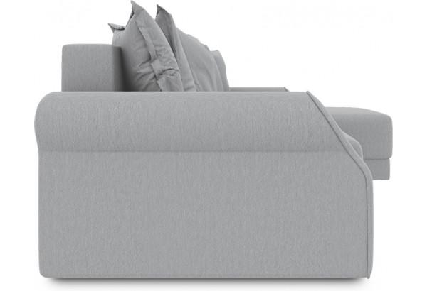 Диван угловой правый «Люксор Т1» (Poseidon Grey (иск.замша) серый) - фото 3