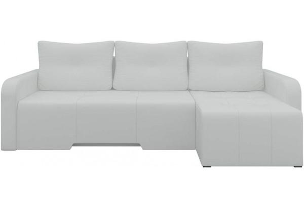 Угловой диван Манхеттен Белый (Экокожа) - фото 3