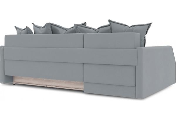 Диван угловой левый «Люксор Slim Т2» (Kolibri Silver (велюр) серый) - фото 4