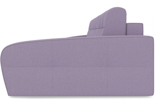 Диван угловой правый «Аспен Slim Т2» (Neo 09 (рогожка) фиолетовый) - фото 4