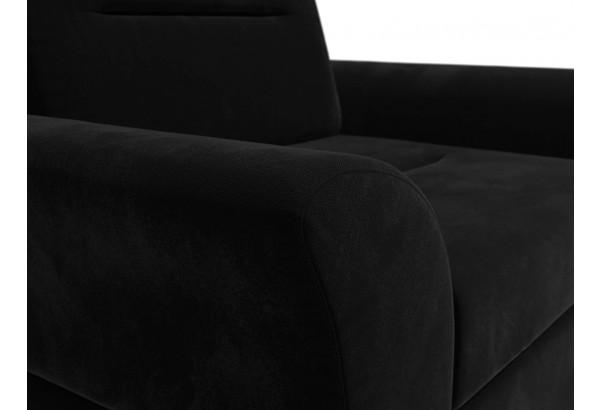 Кресло Клайд Черный (Микровельвет) - фото 5