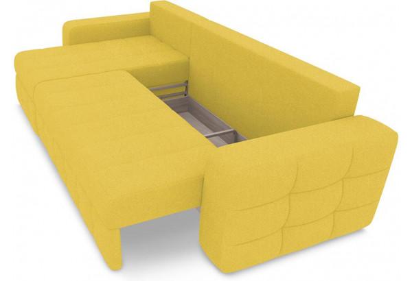 Диван угловой левый «Райс Т1» (Neo 08 (рогожка) желтый) - фото 6