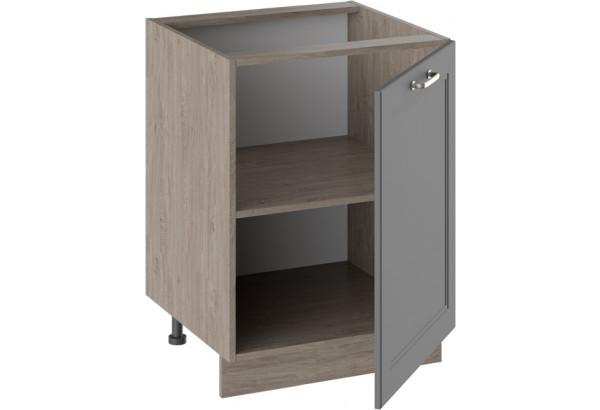 Шкаф напольный ОДРИ (Серый шелк) - фото 2
