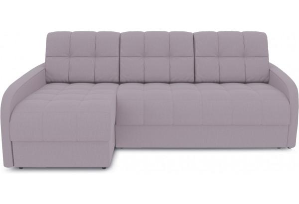 Диван угловой левый «Аспен Slim Т2» (Poseidon Pale Lavender (иск.замша) бледно-лавандовый) - фото 2