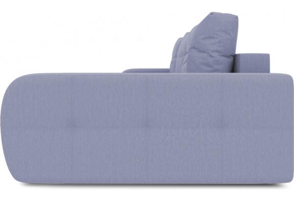 Диван угловой правый «Томас Т2» (Poseidon Blue Graphite (иск.замша) серо-фиолетовый) - фото 5