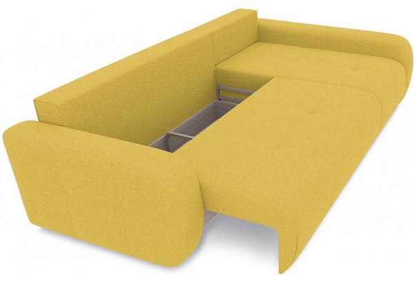 Диван угловой правый «Томас Т2» (Neo 08 (рогожка) желтый) - фото 6