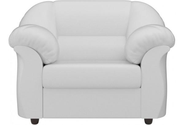Кресло Карнелла Белый (Экокожа) - фото 2