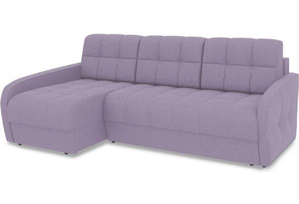 Диван угловой левый «Аспен Slim Т2» (Neo 09 (рогожка) фиолетовый) - фото 1