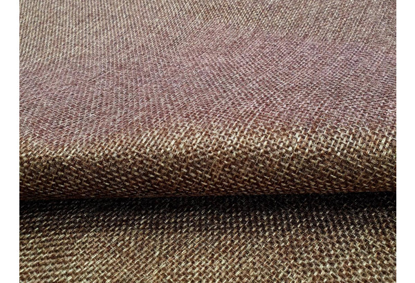 Угловой диван Милфорд бежевый/коричневый (Рогожка) - фото 9