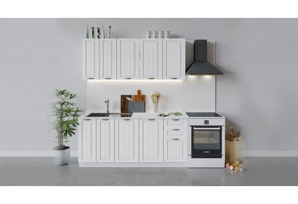 Кухонный гарнитур «Лина» длиной 180 см (Белый/Белый) - фото 1
