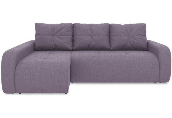 Диван угловой левый «Томас Т2» (Levis 68 (рогожка) Темно - фиолетовый) - фото 2