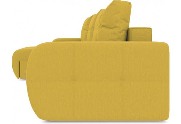 Диван угловой левый «Томас Slim Т1» (Poseidon Curcuma (иск.замша) желтый) - фото 3