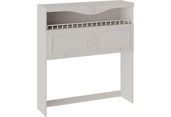 Шкаф навесной с карнизом и балюстрадой «Сабрина» Кашемир - фото 1