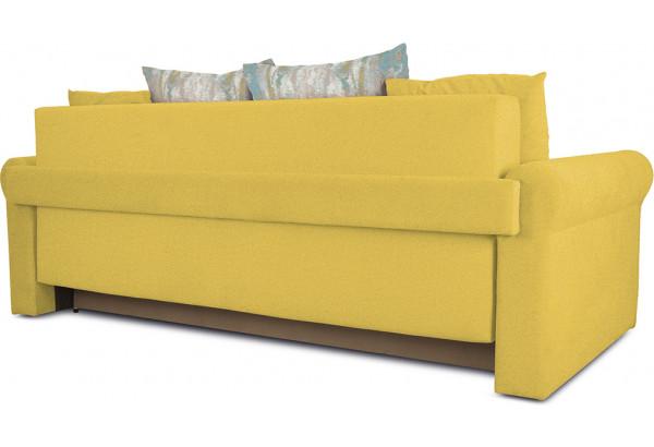Диван «Шерри» Maserati 11 (велюр) желтый, подушки Tiffany laguna (шинил) морская волна - фото 3