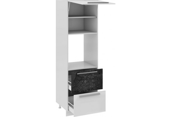 Шкаф пенал под бытовую технику с 2-мя ящиками Фэнтези (Лайнс) - фото 1