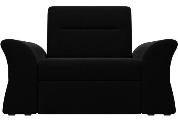 Кресло Клайд Черный (Микровельвет) - фото 2