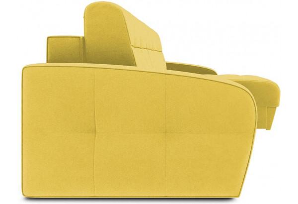 Диван угловой правый «Аспен Slim Т1» (Neo 08 (рогожка) желтый) - фото 3