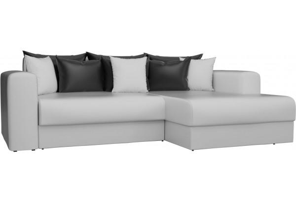 Угловой диван Мэдисон Белый (Экокожа) - фото 1