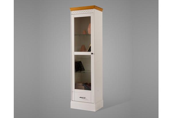 Шкаф Дания книжный 1-створчатый - фото 1