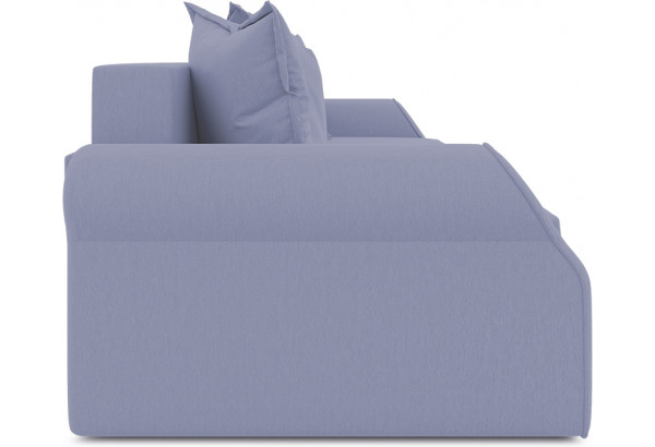 Диван «Люксор» (Poseidon Blue Graphite (иск.замша) серо-фиолетовый) - фото 4