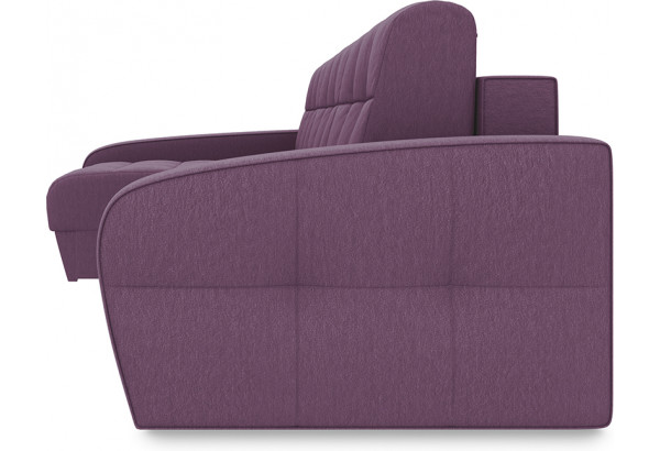 Диван угловой левый «Аспен Slim Т2» (Kolibri Violet (велюр) фиолетовый) - фото 3
