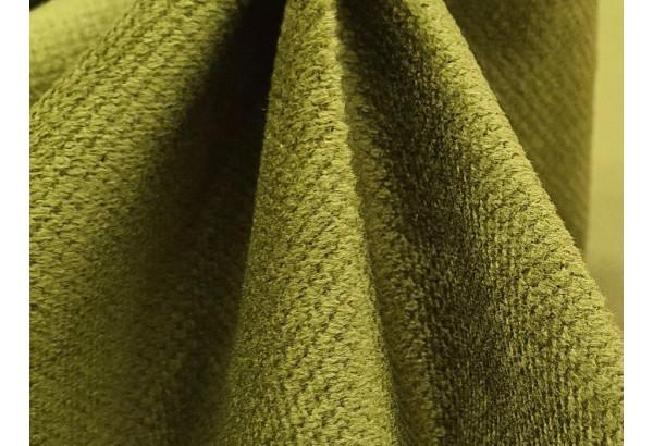 П-образный диван Мэдисон Бежевый/Зеленый/Зеленый (Микровельвет) - фото 12