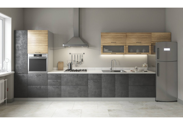 "Кухня ""Лофт"" 4,8 м (модульная система) - фото 1"