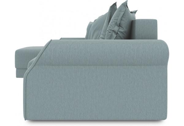 Диван угловой левый «Люксор Т1» (Poseidon Lagoon (иск.замша) бледно-бирюзовый) - фото 3