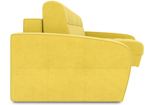 Диван угловой правый «Аспен Т2» (Maserati 11(велюр),желтый) - фото 3