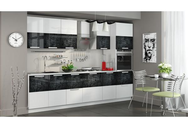 Кухонный гарнитур длиной - 300 см (с пеналом ПБ) Фэнтези (Лайнс) - фото 2