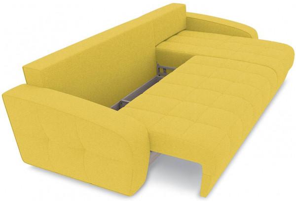 Диван угловой правый «Аспен Т1» (Neo 08 (рогожка) желтый) - фото 6