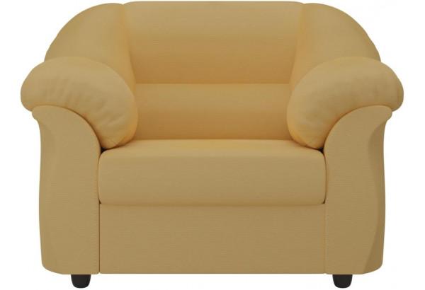Кресло Карнелла Желтый (Микровельвет) - фото 2