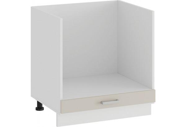 Шкаф напольный под бытовую технику «Долорес» (Белый/Крем) - фото 1